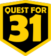 Quest for 31 Logo